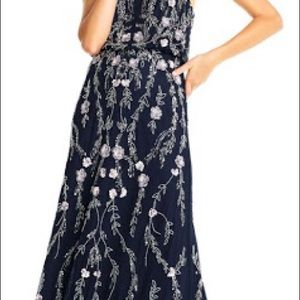 Adrianna Papel midnight blue gown
